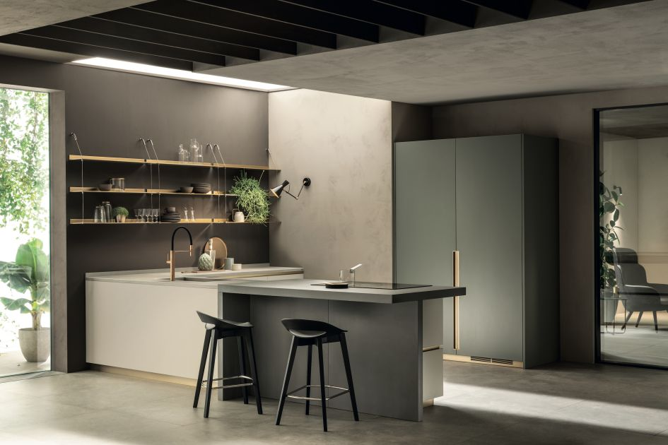 I materiali di tendenza di DeLinea, la nuova cucina ...