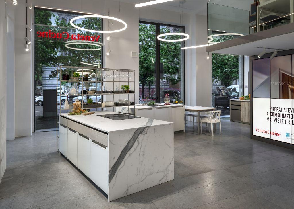 Veneta Cucine Foro Buonaparte.Veneta Cucine Milano Ambiente Cucina