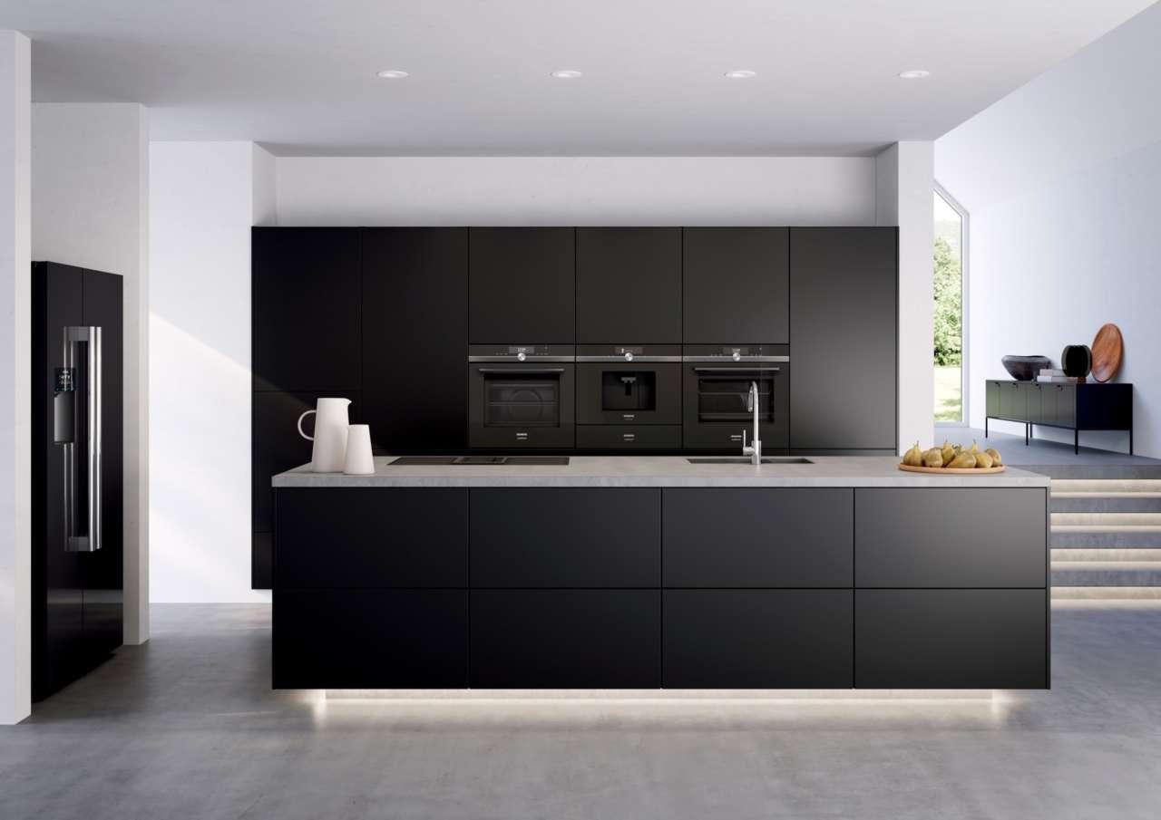 Siemens gamma studioline cucina nera