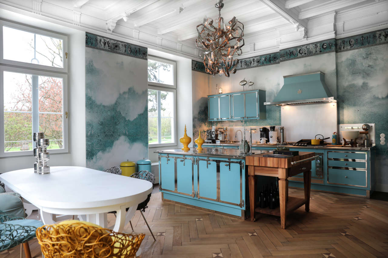 Una cucina turchese | Ambiente Cucina