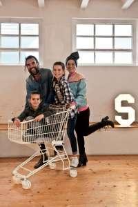 Stefano Seletti e famiglia