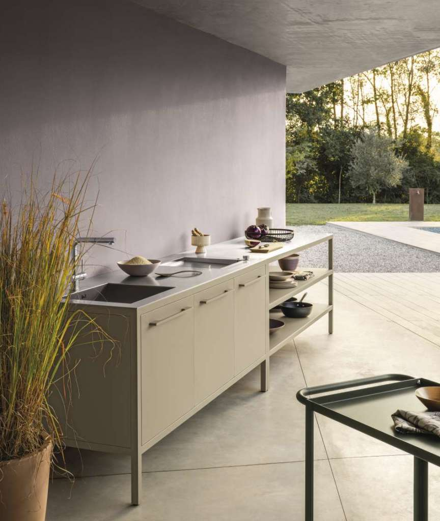 fantin frame kitchen outdoor