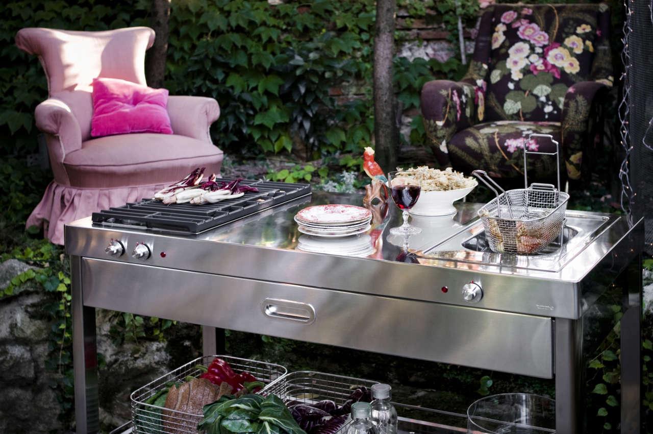 Blocchi Outdoor Per Ricette A Cielo Aperto Ambiente Cucina