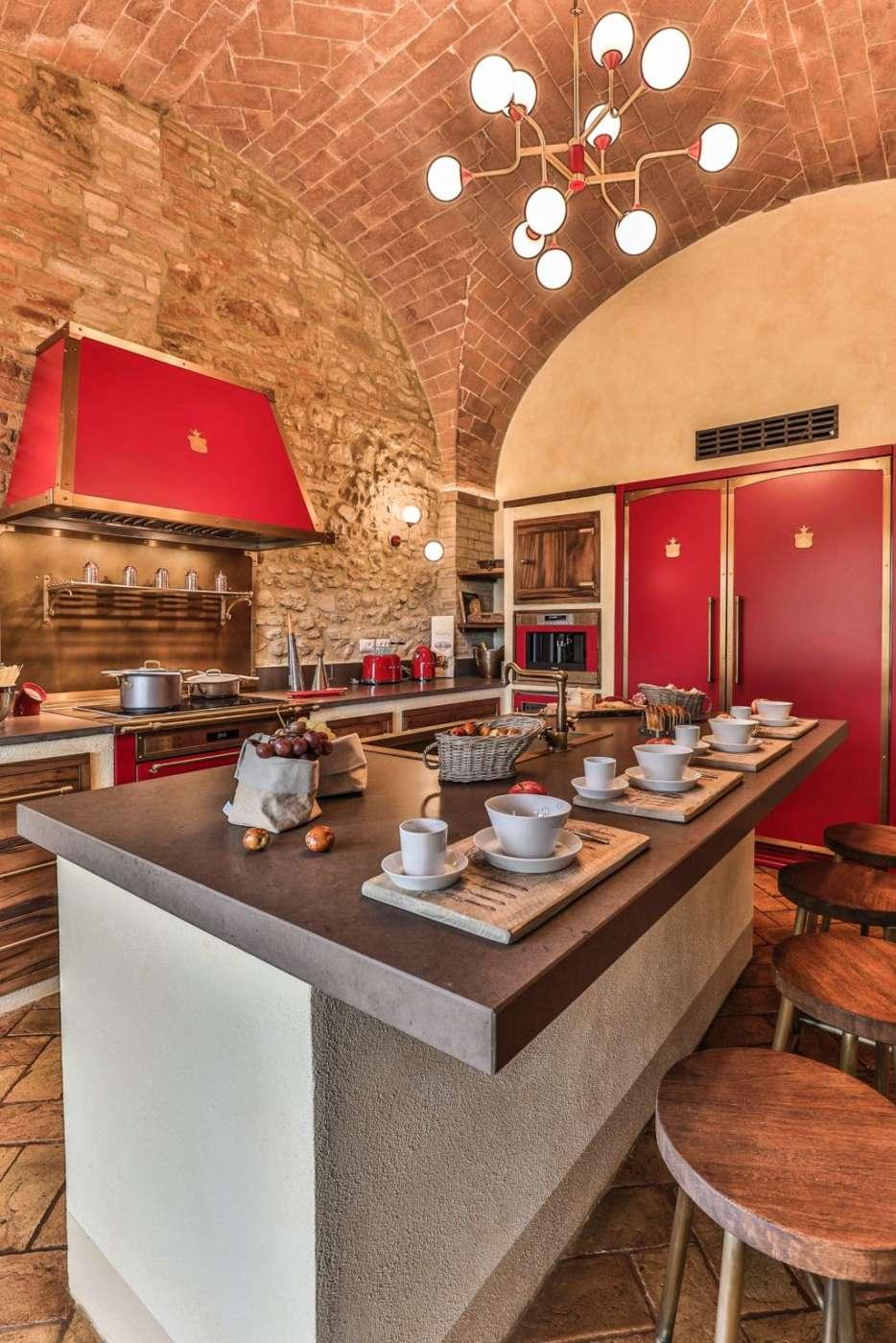 Sotto Le Volte Di Un Casale Toscano Ambiente Cucina